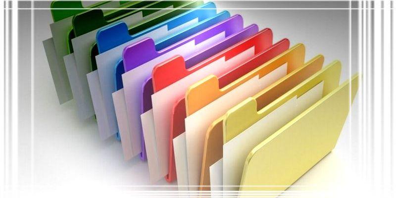 Как заменить обычные папки на цветные