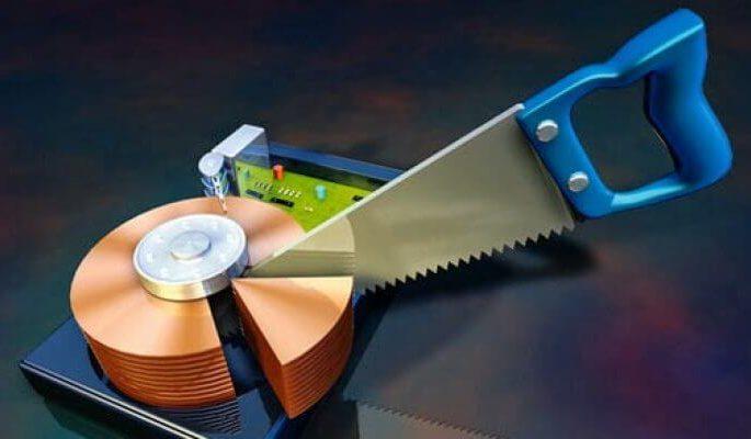 Как разбить жесткий диск на разделы