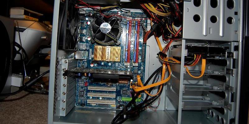 Перегрев персонального компьютера